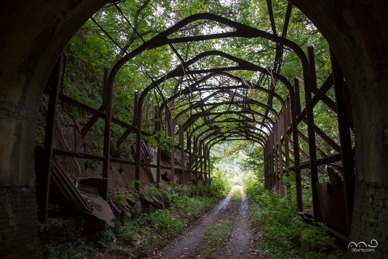 【壁紙】旧船岡隧道
