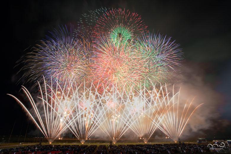 大曲の花火 秋の章 ハーフタイムショー