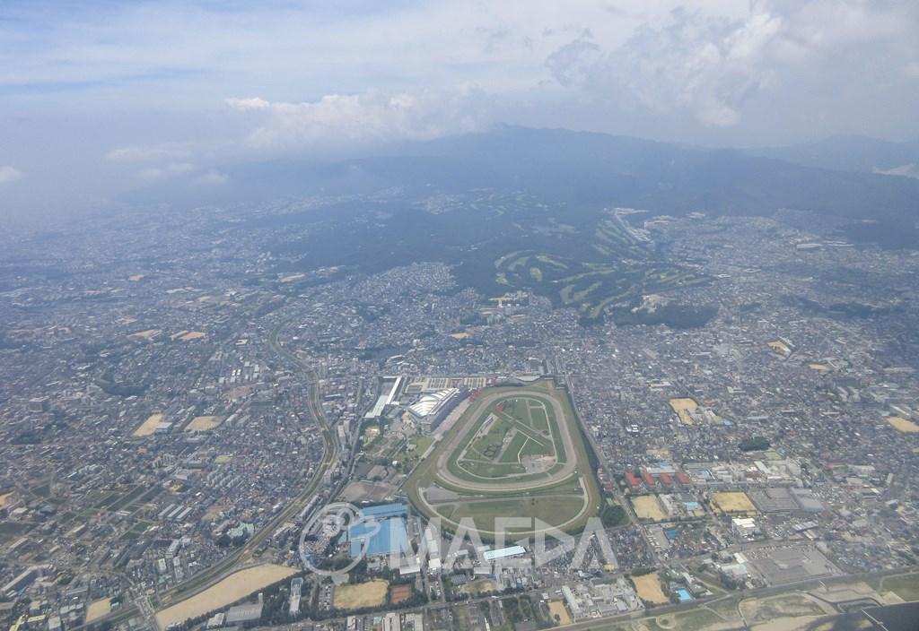阪神競馬場周辺空撮